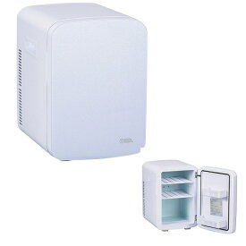 オーム電機 電子式保冷保温ボックス KAJ-R135R-W