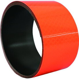 トラスコ中山 日東エルマテ プリズム反射マグネットシート 50mm×1m 蛍光オレンジ tr-1602754