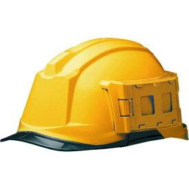 ミドリ安全 IDケース付ヘルメット SC-19PCL-ID RA3 α イエロー/スモーク tr-1477110