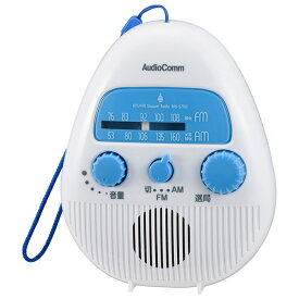 オーム電機 AM/FMシャワーラジオ RAD-S778Z
