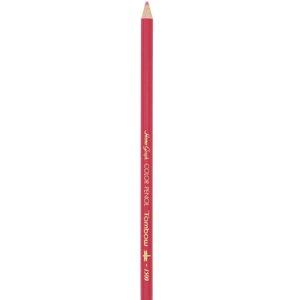 トンボ鉛筆 色鉛筆 1500 単色 薄紅色 1500-27 (12本) 4901991001587