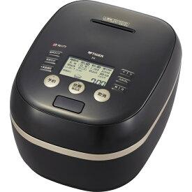 タイガー 土鍋が生みだす泡と高火力で、際立つ土鍋ごはんの旨み 土鍋圧力IH炊飯ジャー5.5合炊き JPH-G100-K