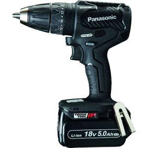 トラスコ中山 Panasonic デュアル 充電振動ドリルドライバー 18V 5.0Ahセット tr-2063916