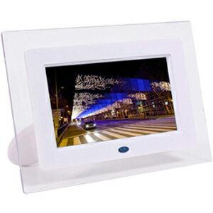 ITPROTECH クリアパネル採用7型ワイド液晶搭載のデジタルフォトフレーム ホワイト IPT-DF70-W
