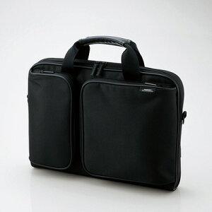 ZEROSHOCK キャリングバッグ スリムタイプ スモールサイズ ZSB-BM006NBK [13.3インチ対応 ブラック]