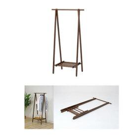 不二貿易 木製ハンガー 6110-6-80(KI)WH (ホワイト) 89252