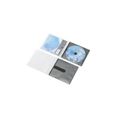 エレコム 市販ディスク圧縮ケース/CD/1枚収納/30枚/ブラック (CCDDPC30BK) CCD-DPC30BK