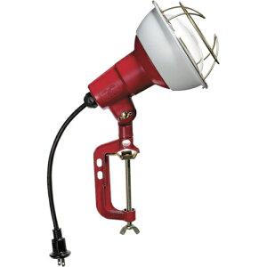 ハタヤリミテッド ハタヤ 防雨型作業灯 リフレクターランプ200W 100V電線0.3m バイス付 RC-200