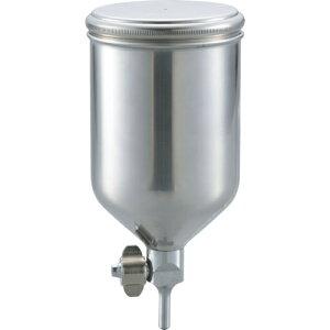 トラスコ中山 TRUSCO ステンレス塗料カップ 重力式用 容量0.4L 脚付 tr-3015092