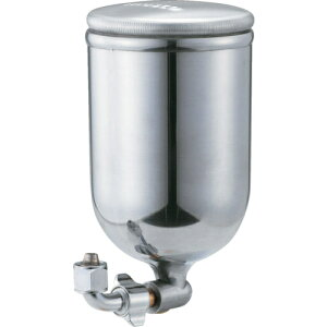 トラスコ中山 TRUSCO 塗料カップ 吸上式用 容量0.4L L型ジョイントタイプ tr-2775204