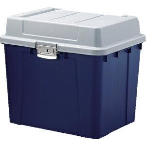 アイリスオーヤマ IRIS 多目的屋外収納 密閉バックルストッカー548×470×498 青 KB-540-B