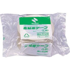 ニチバン ニチバン 布粘着テープ102N75ミリ 102N7-75
