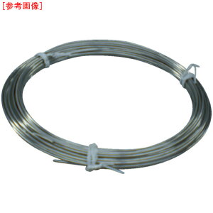 トラスコ中山 TRUSCO ステンレス針金 小巻タイプ 2.0mmX10m TSWS-20