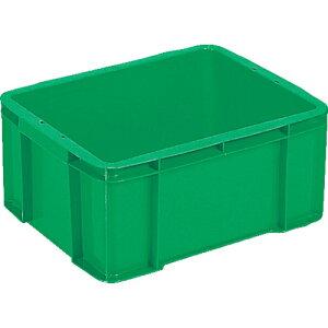 サンコー ボックス型コンテナー サンボックス#28ー2 グリーン tr-3423832