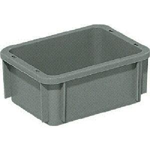サンコー ボックス型コンテナー サンボックス#2S ライトグレー tr-3423875