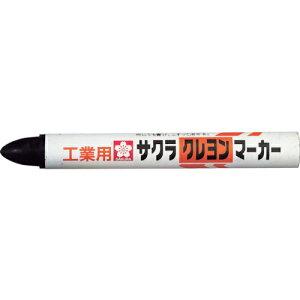 サクラ 【10個セット】 クレヨンマーカー 黒 tr-3355586