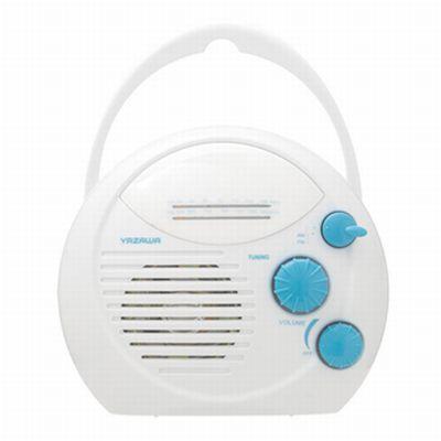 ヤザワ シャワーラジオ(白) SHR01WH