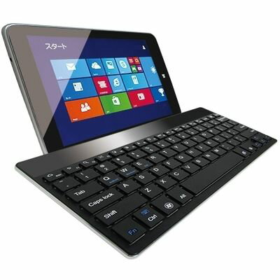 マグレックス ウルトラスリム Bluetoothキーボード for Tablet(Windows/Android/iOS) ブラック MKU9000-BK