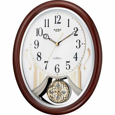 リズム時計 スモールワールドストリーム 4MN510RH06