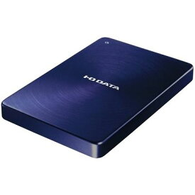アイ・オー・データ機器 USB 3.0/2.0対応 ポータブルハードディスク「カクうす」1.0TB ブルー HDPX-UTA1.0B