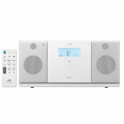 【あす楽対応_関東】ビクター BluetoothR、CD、USB、FM/AMチューナーを搭載 コンパクトコンポーネントシステム(ホワイト) NX-PB30-W