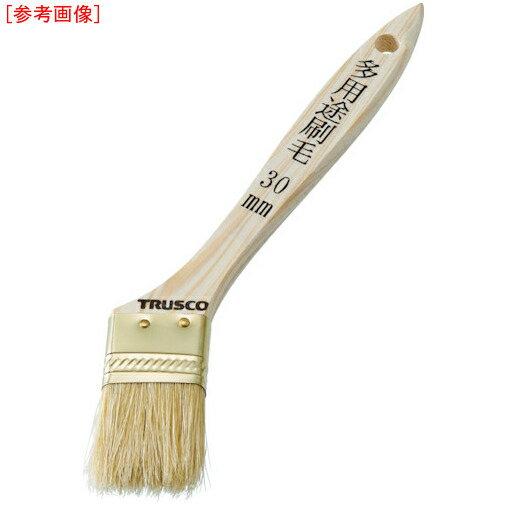 トラスコ中山 TRUSCO 多用途刷毛 豚毛 50mm TPB543 4989999359688