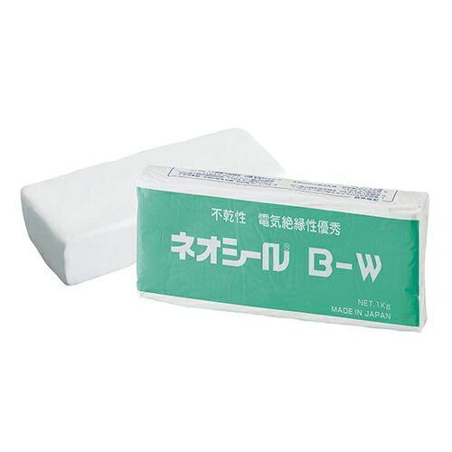 日東化成工業 ネオシール B-W(1Kg)ホワイト 一般パテ 75000020