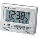 MAG デジタル電波時計「エアサーチ グッドライト」(銀メタリック) T-694-SM-Z