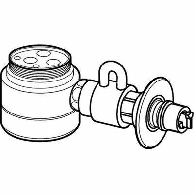 【代引手数料無料】パナソニック 食器洗い乾燥機用分岐栓 (CBSPB8) CB-SPB8【納期目安:追って連絡】