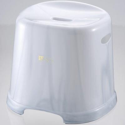 リッチェル 風呂椅子 31cm バスカTR 腰かけ 31H グレー (バスチェア) 4973655312957