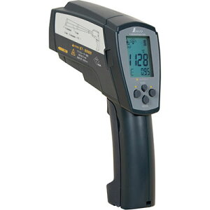シンワ測定 放射温度計高温測定用デュアルレーザーポイント機能付放射率可変タイプ 73100