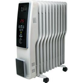 TEKNOS オイルヒーター 11枚フィン デジタル表示 TOH-D1101