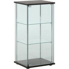 不二貿易 ガラスコレクションケース3段 96049