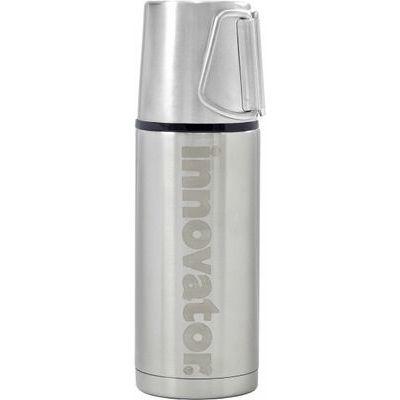 東亜金属 イノベーター 水筒 ステンレス ボトル シルバー 400ml コップ スリム 保温 保冷 DD-08388