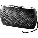 オーム電機 Audio Comm ポータブルCD/MP3/ラジオ(ブラック) RCR-90Z-K