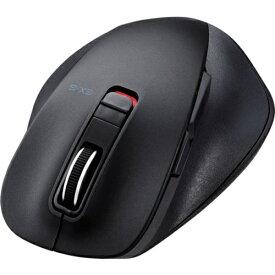 エレコム エレコム BlueLEDマウス MサイズBluetooth5ボタン ブラック MXGM10BBBK