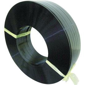 積水樹脂 積水 ポリエステルバンド1604×1400M−黒 PET1604M