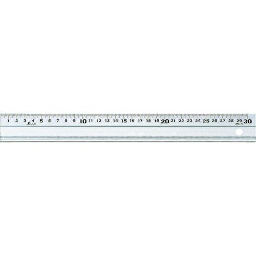 シンワ測定 シンワ アルミ製スケールアル助300mmスベリ止付 65331