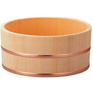 その他 さわら 風呂桶 銅タガ 6-481-7 φ230×115 EBM-3480900