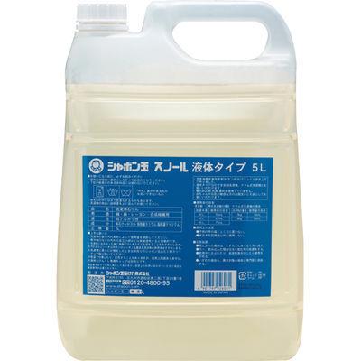 シャボン玉石けん シャボン玉 スノール 液体タイプ 5L 4901797026081