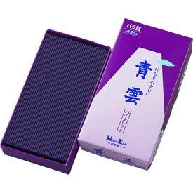 日本香堂 青雲 バイオレット バラ詰 内容量約155g、総重量約203g 4902125219007