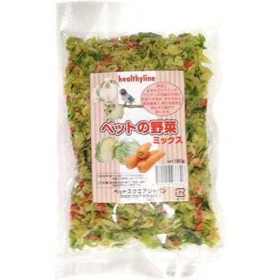ペットスクエアジャパン ヘルシーライン ペットの野菜 ミックス 180g E308609H【納期目安:1週間】