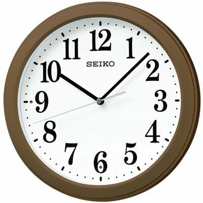 セイコークロック セイコー 電波掛け時計 KX379B 1台 4517228033957【納期目安:2週間】