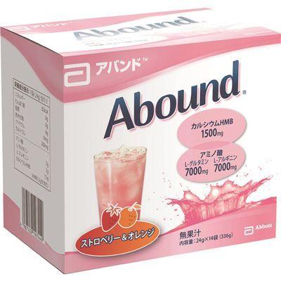 Abbott japan(アボットジャパン) アバンド ストロベリー&オレンジ 24g×14袋 E394701H