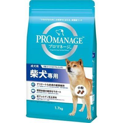 マースジャパンリミテッド プロマネージ 柴犬専用 成犬用 1.7kg 4902397837121【納期目安:2週間】