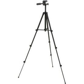 オーム電機 カメラ三脚 4段階調節 黒 OCT001-K  1コ入 4971275328914【納期目安:2週間】