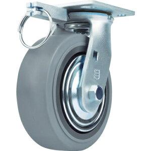 SAMSONG CASTER SAMSONG 重荷重用キャスター 自在 ゴム車125mm TP6650MIRBBTG