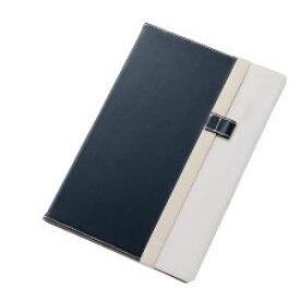 レイ・アウト Xperia Z4 Tabletバイカラー・ブックレザー(合皮)/ネイビー/ホワイト RT-Z4TLC7/NW RTZ4TLC7NW-Bケー 4562356975549【納期目安:3週間】
