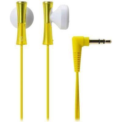 オーディオテクニカ Audio-Technica インナーイヤーヘッドホン ATH-J100YL ATHJ100YL-YL【納期目安:約10営業日】