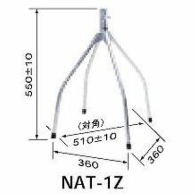 日本アンテナ 屋根馬 NAT-1Z NAT1Z【納期目安:3週間】